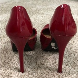 Jessica Simpson Shoes - Jessica Simpson Red High Heels